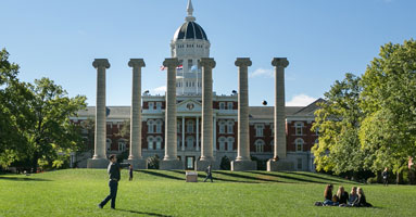 Columns and Jesse Hall