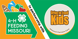 4-H Feeding Missouri in partnership with Drive to Feed Kids, Missouri Farmers Care