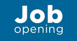 Job opening.