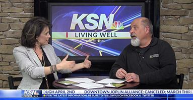 Robert Balek on weekly TV segment