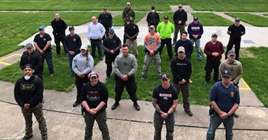 Students in the Winter 2020 Law Enforcement Training Academy