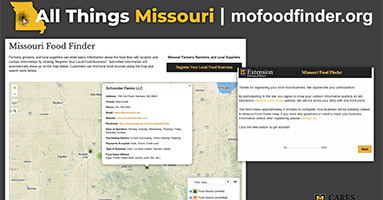 MO Food Finder tool