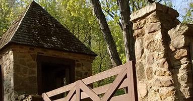 Landmark in Wayne County park