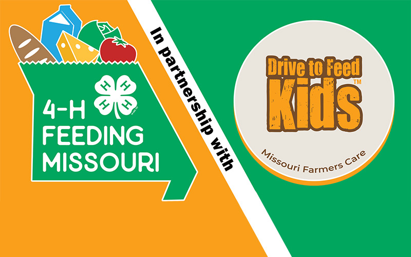4-H Feeding Missouri in partnership with Drive to Feed Kids