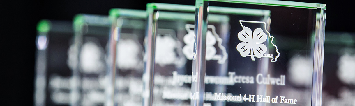 2019 Missouri 4-H Hall of Fame