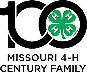Missouri 4-H Century Families logo