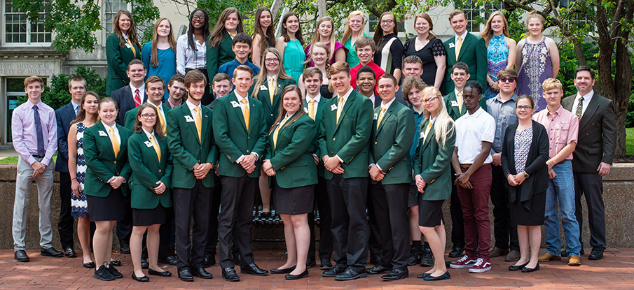 2019-2020 State 4-H Council group photo