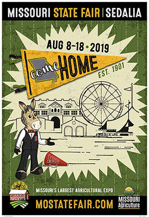 2019 Missouri State Fair Poster