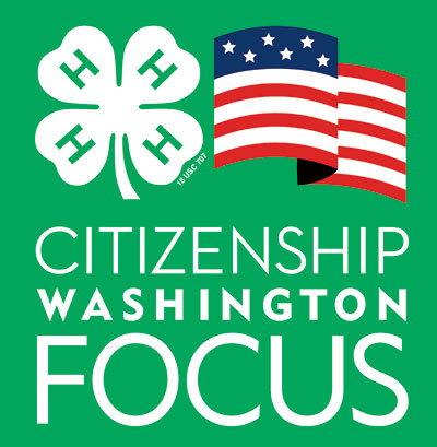 4-H Citizenship Washington Focus logo