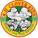 4-H Clover kids logo