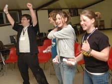 Four happy 4H participants