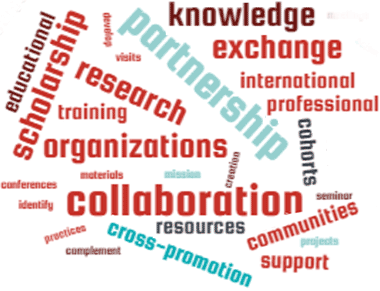 partnership, collaboration, scholarship