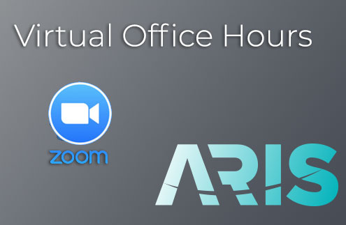 ARIS virtual office hours with Zoom