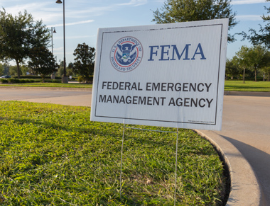 Sign for Federal Emergency Management Agency