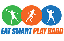 Eat Smart Play Hard logo