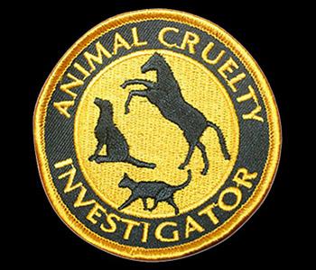 Animal Cruelty Investigator patch