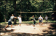 Volleyball at Romeo Corbeil Camp