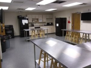 Picture of non-commercial kitchen space