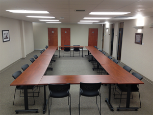 Picture of large conference room space