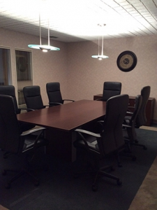 Picture of small conference room space