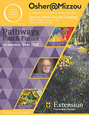 Link to PDF of Osher's spring 2019 course catalog