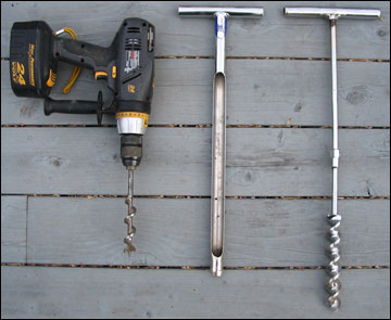 Tools for soil testing