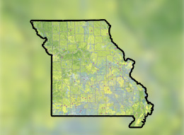 Outline of state of Missouri