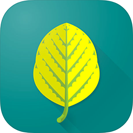 Herbicide Injury ID app icon of a leaf on a teal background