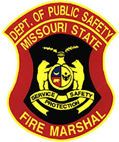 Missouri Fire Marshall shield